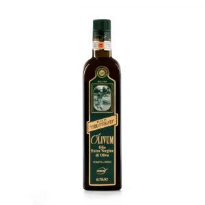 primoljo olivum dop terra d'otranto bottiglia da 0,75 litri