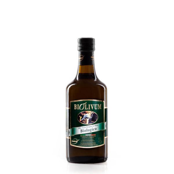 olio primoljo biolivum bottiglia da 0,5 litri