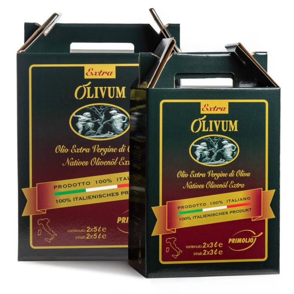 primoljo duetto extra olivum 2 lattine