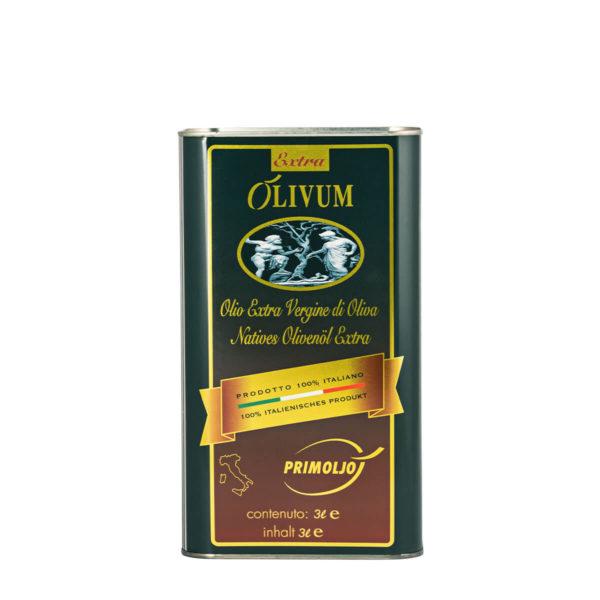 primoljo lattina extra olivum 3 litri