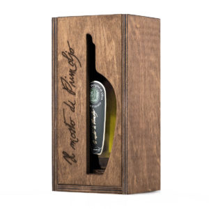 mosto primoljo in wood box