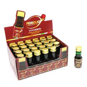 Prodotti monodose acetodi vino rosso