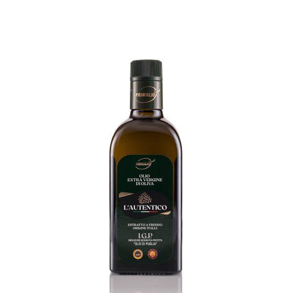 autentico primiolio olio fruttato bottiglia da 0.5